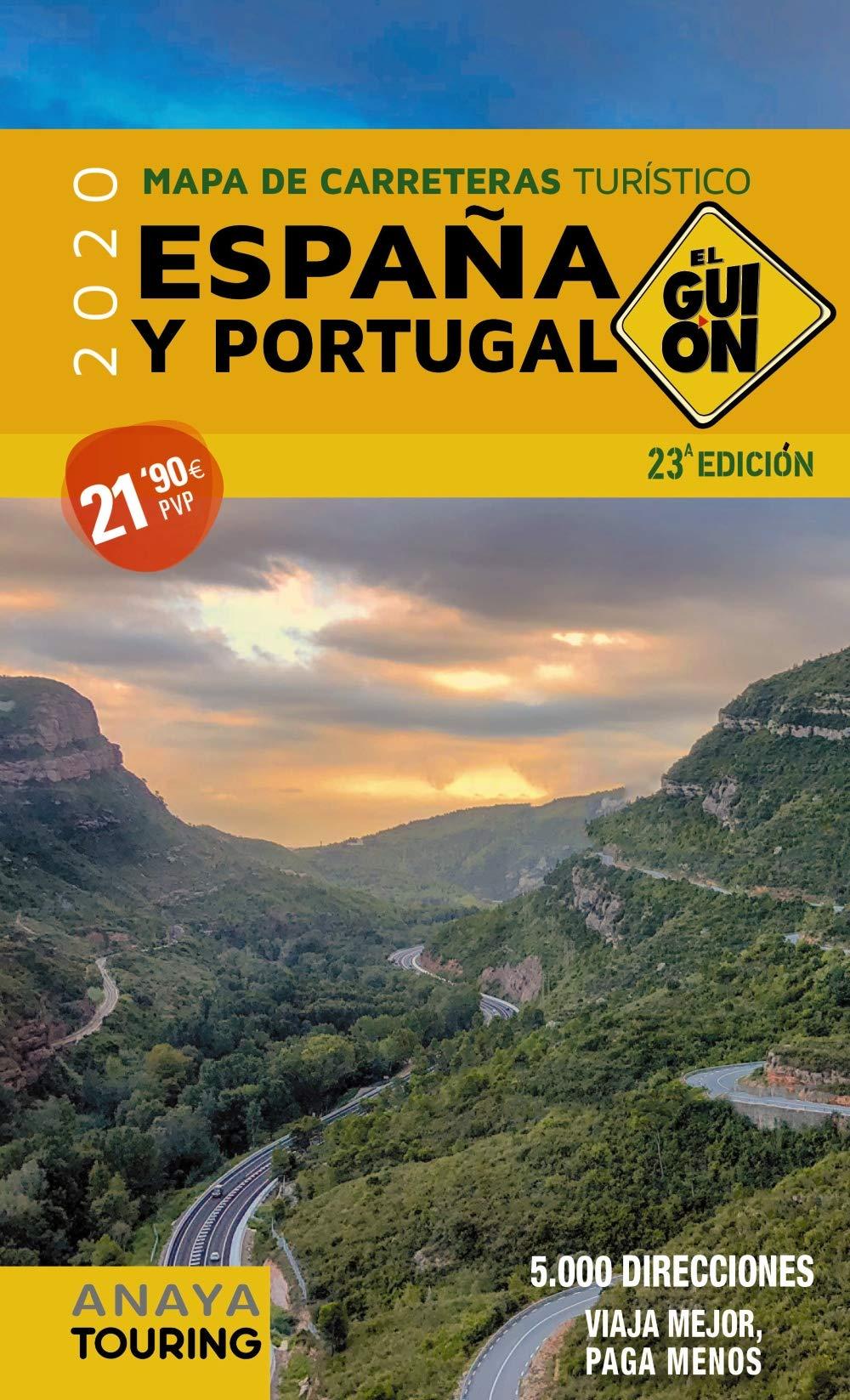 El Guión 1:340.000 (2020) (Mapa Touring): Amazon.es: AA. VV.: Libros