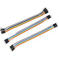 ApTechDeals Jumper Wires Male to Male, Male to Female, Female to Female/breadboard jumper wires (10+10+10)
