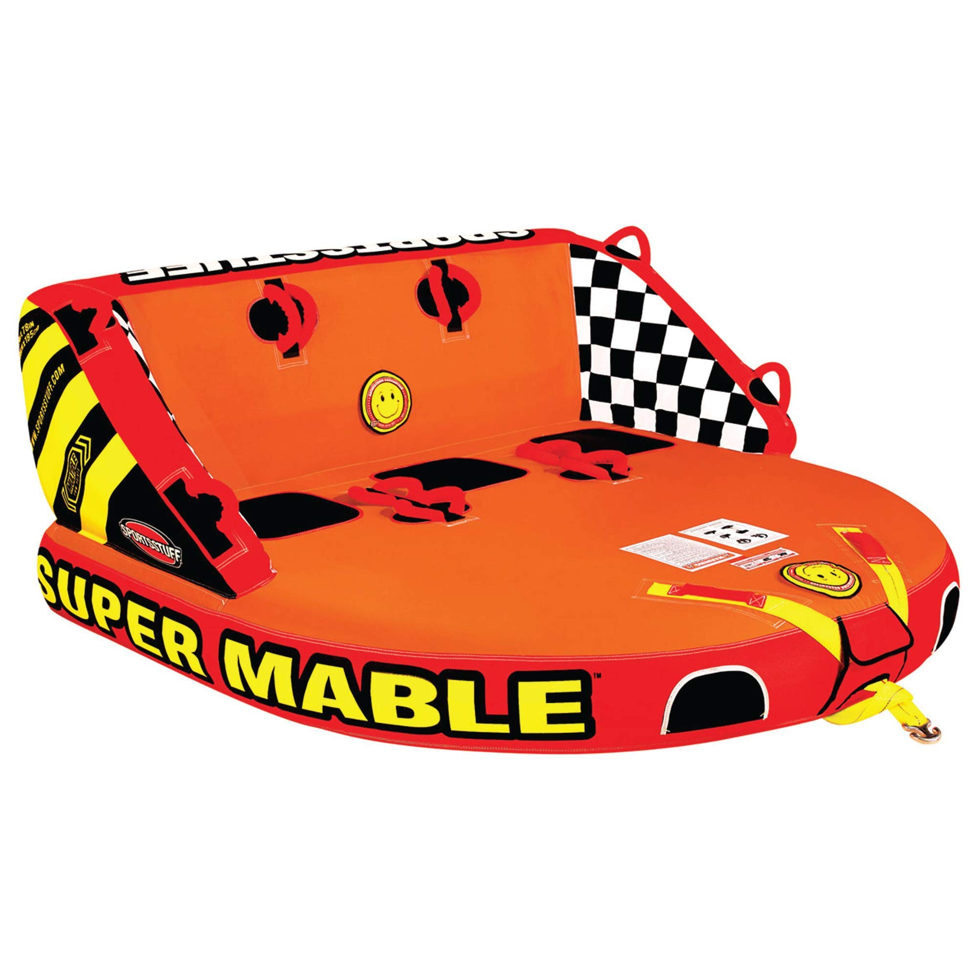 Sportsstuff Super Mable | 1-3 Rider Towable Tube for Boating by SportsStuff
