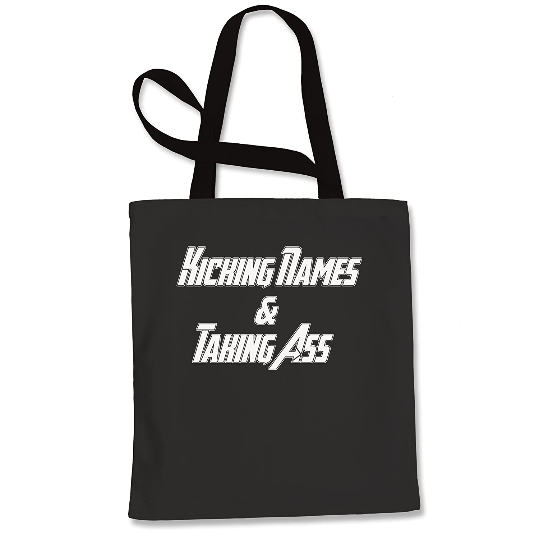 Kick Names Take A-S Shopping Tote Bag
