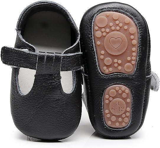 Amazon.com: HONGTEYA - Sandalias de piel para bebé y niño: Shoes