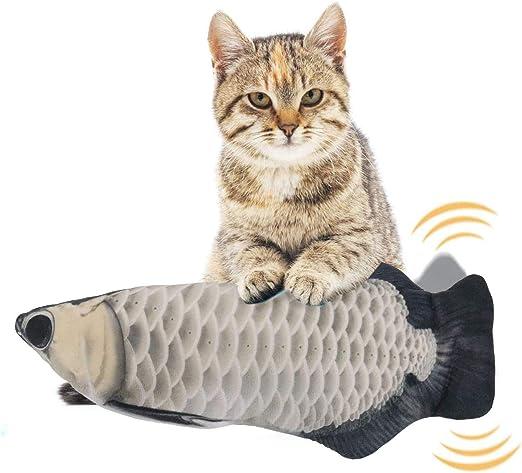 EKKONG Juguete Hierba Gatera,Juguete Interactivo, Simulación de Peces de Peluche Juguetes, Catnip Fish Toys, Juguete Electrico Automático para Gatos Gatito (Type C): Amazon.es: Productos para mascotas