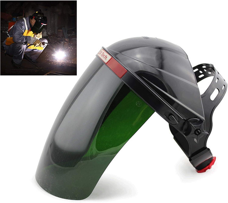 Soudage fin Protection Visage/Protection de la tête masque de protection UV pour machine de soudage MIG/MAG CT Wig KR et LGK Plasma Schneider
