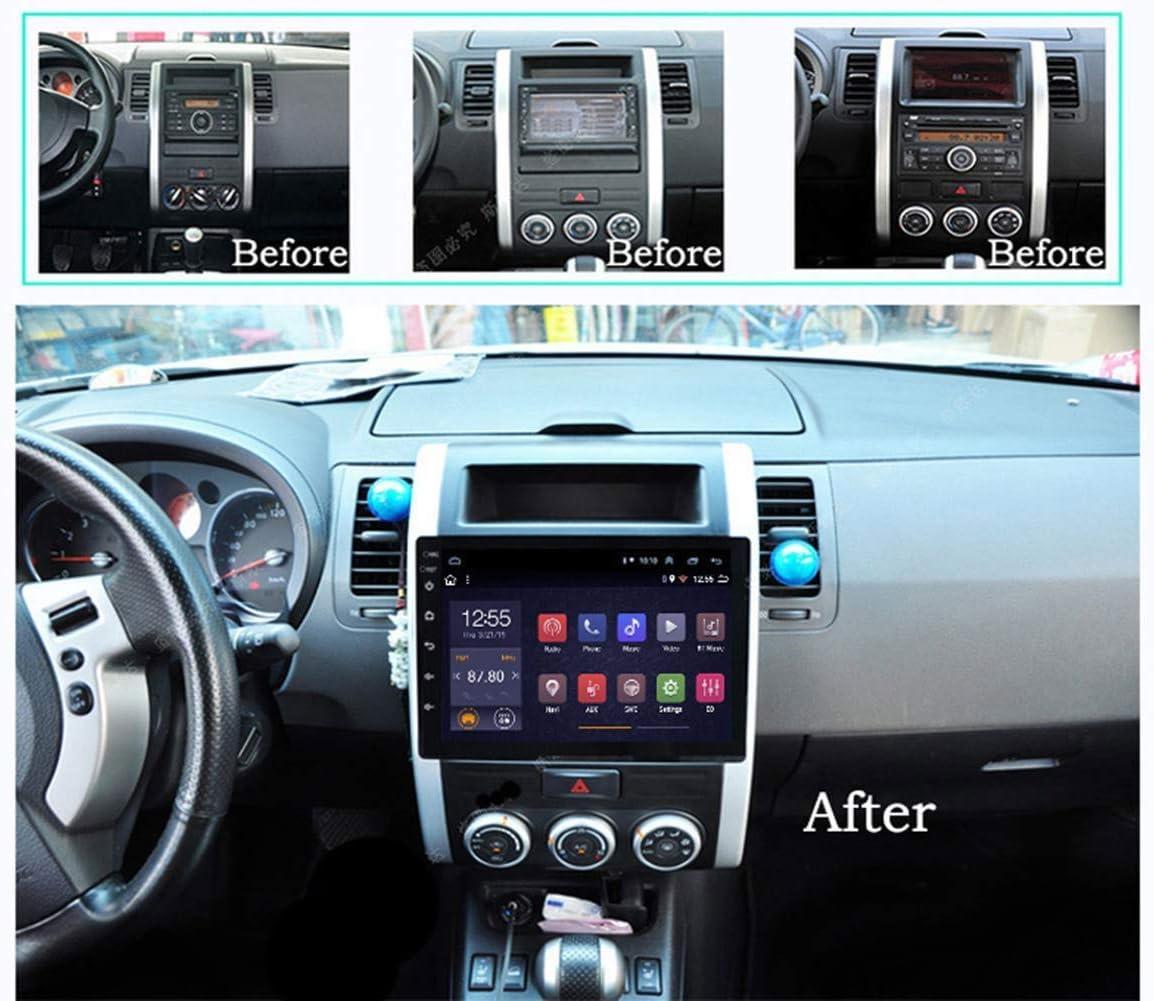 Navegaci/ón GPS Pantalla T/áctil 10,1 Pantalla Reproductor Multimedia del Coche Espejo WiFi Bluetooth HWENJ Sat/élite del Coche para Nissan X-Trail 2008-2012 Android 8.1 Radio del Coche