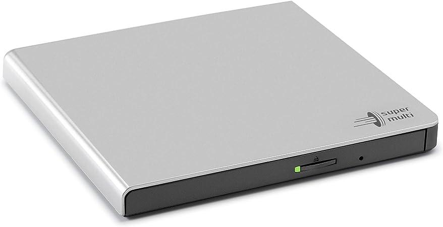Lg Gp57Es40 Slim USB Externa De DVD Quemador De Plata: Lg: Amazon ...