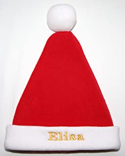 Baby s Personalised 1st Christmas Santa Hat with Embroidered Name - Now  Available in 4 Sizes ( ba8a641edb7f