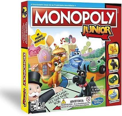 Hasbro Gaming - Monopoly Junior (Hasbro A6984521) (versión en portugués): Amazon.es: Juguetes y juegos