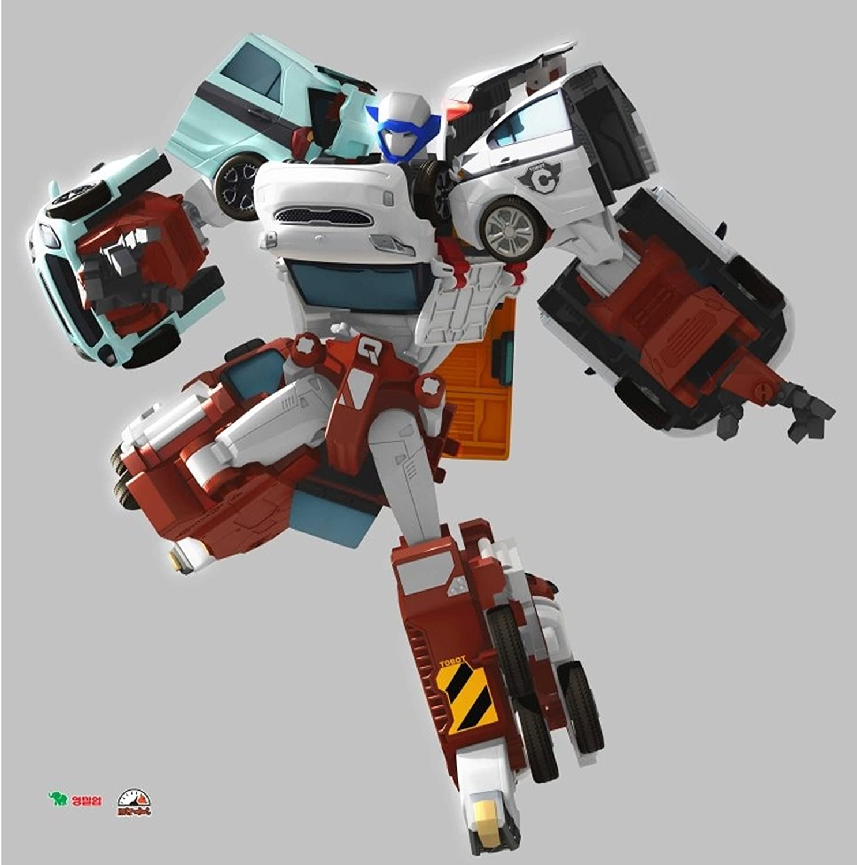 Amazon Com Tobot Quadrant 4 Copolymers Transformer Robot Diecast