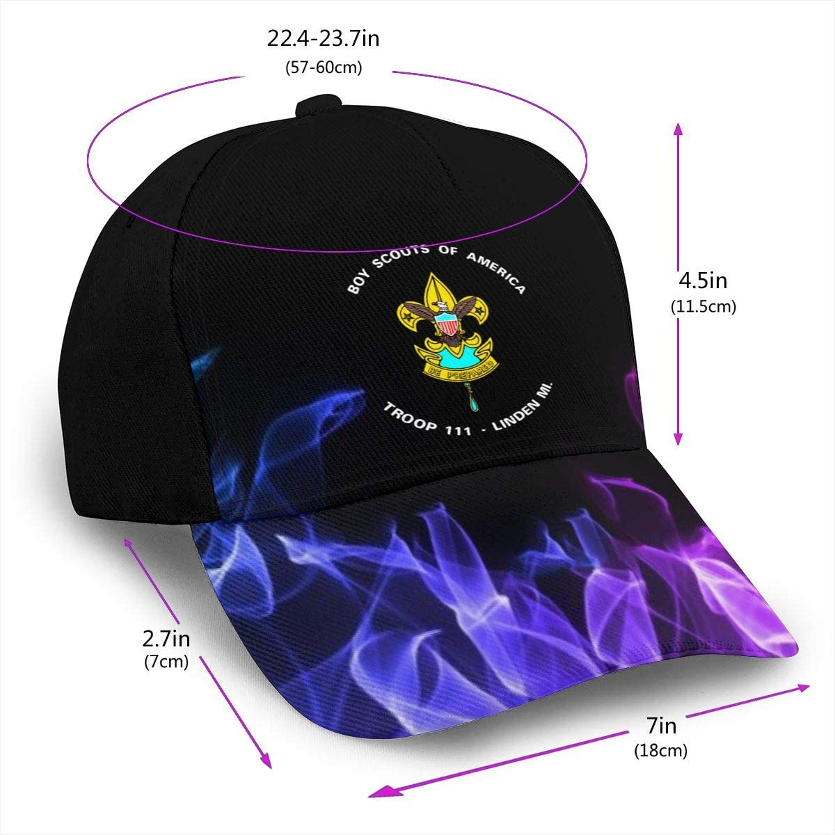 Boy Scout Scout Troops Classic Adult Cap Printing Duck Tongue Baseball Hat Snapback Men Women Caps Adjustable