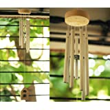 Paradigm Pictures Feng Shui Items for Home Decoration Wind Chimes for Home Positive Energy for Balcony Bedroom (Silver, 7 Pipe)