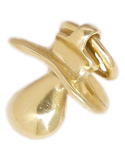 MyGold Chupete colgante (sin cadena) Oro Amarillo 333 Oro (8 ...