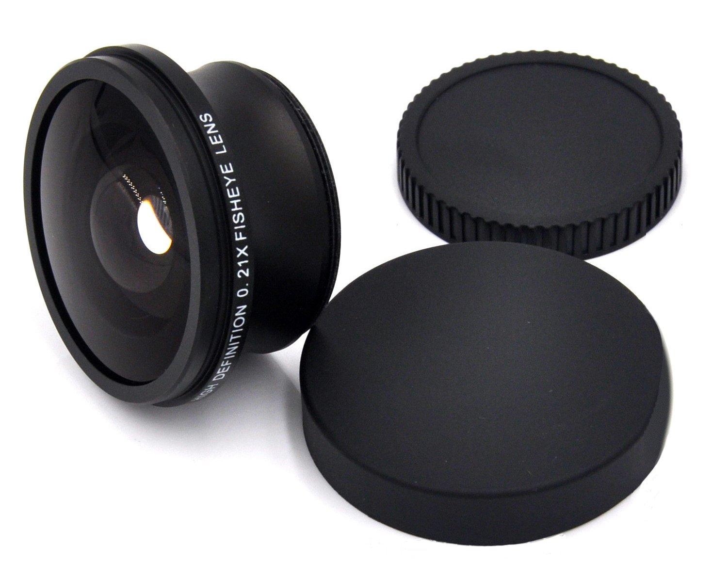 Video /& Still Photography 0.33x High Grade Fish-Eye Lens for The Sony Cyber-Shot DSC-RX10 III