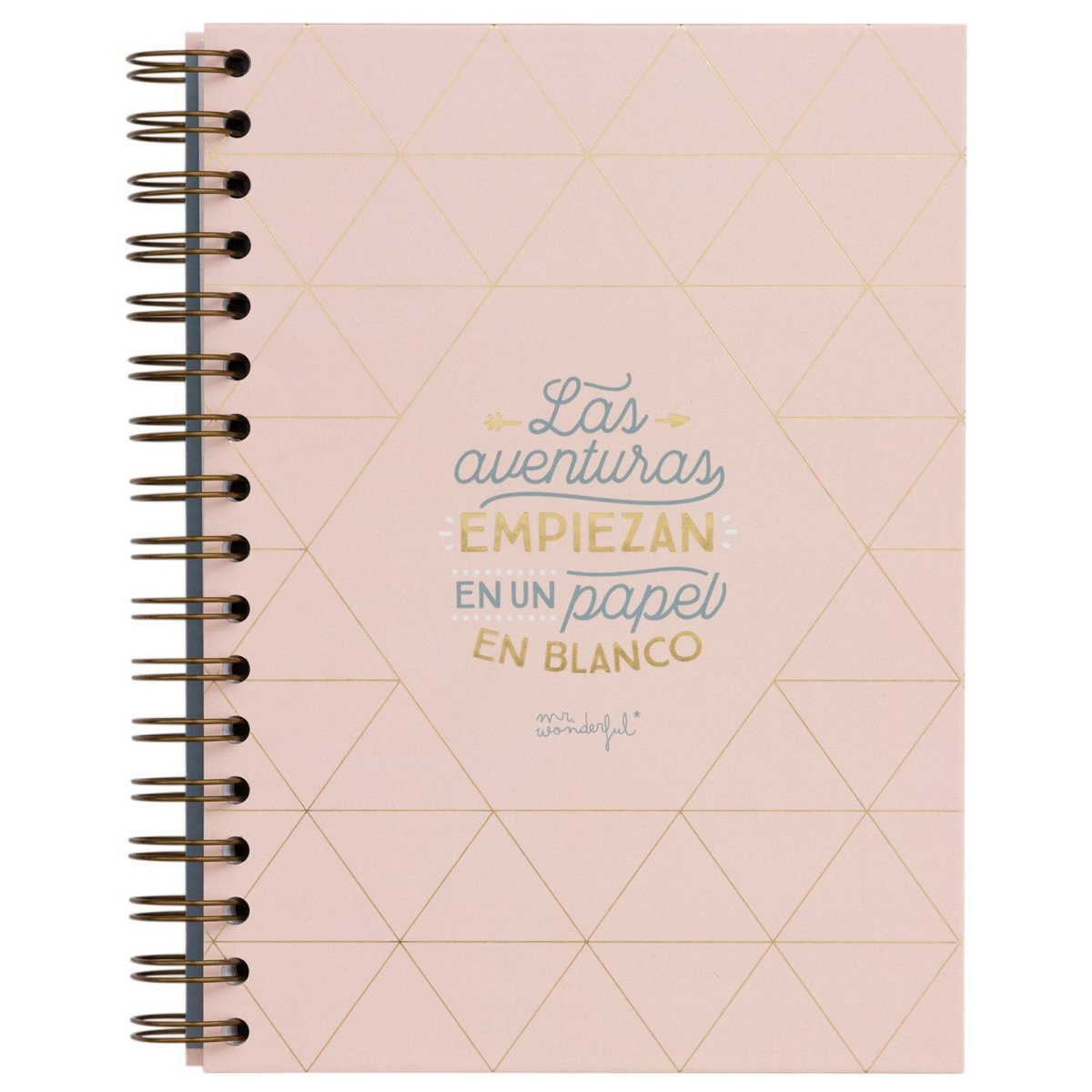 Cuaderno de viaje mr. Wonderful