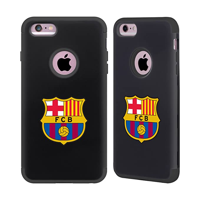 368885f5a52 Amazon.com: Official FC Barcelona Logo Various Designs Black ...