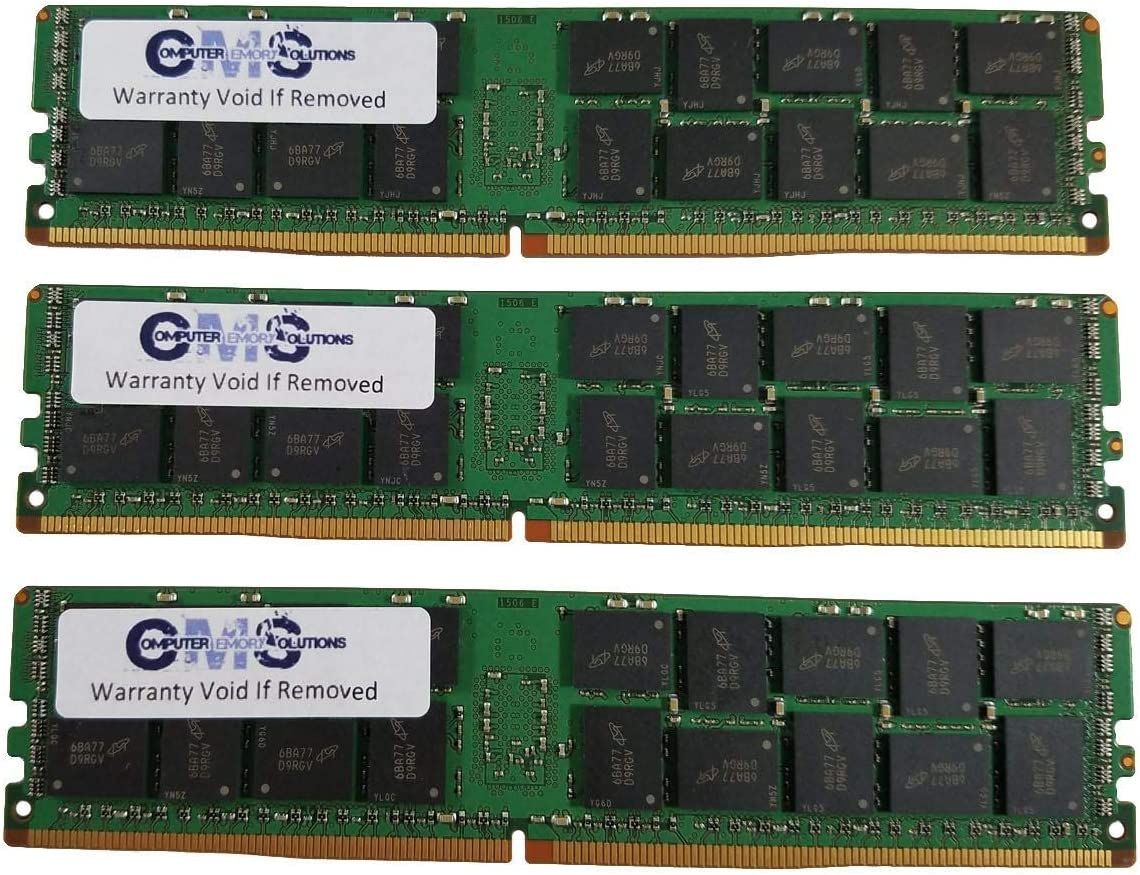 24GB 3X8GB Memory RAM Compatible with Dell PowerEdge R730 DDR4 ECC REGISTER C13
