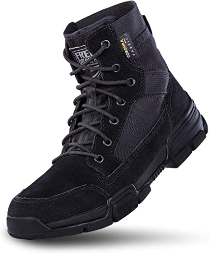 Winter Kid Child US Army Tactical Combat Boots Boy Military Outdoor Fleece Shoes