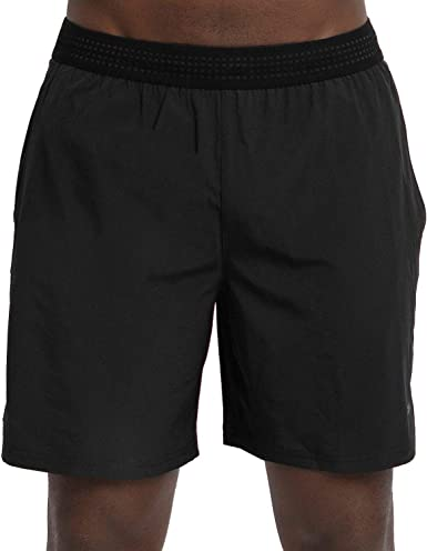 Skora Men's Two in One and Unlined Athletic Running Shorts