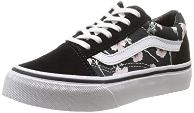 Vans Unisex-Kinder K Old Skool Vintage Floral Low-top: Amazon.de ...