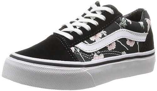 Vans SHOES OLD SKOOL FLORAL VINTAGE BLACK 32 Black  Amazon.ca  Shoes ... ecf501b15c