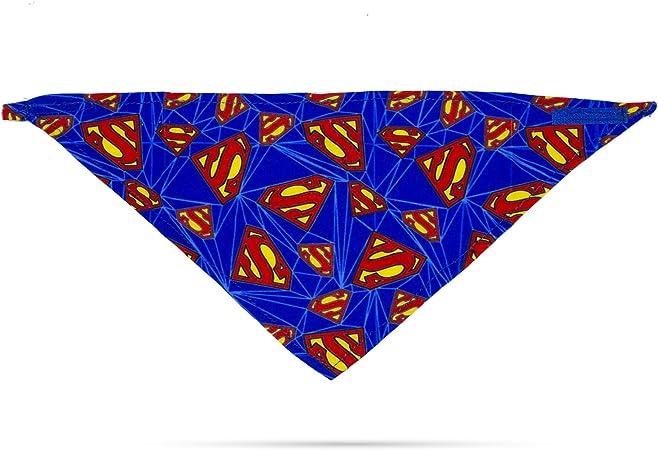 DC Comics Superman 100/% Cotton Custom Dog Bandana