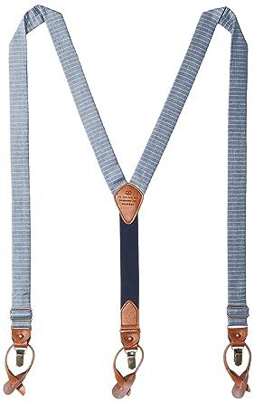 267a9a5785a Tommy Hilfiger Men s 30mm Horizon Stripe Suspender