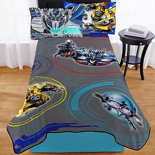 Transformers 5 Full Size Plush Blanket 62 in x 90 in.