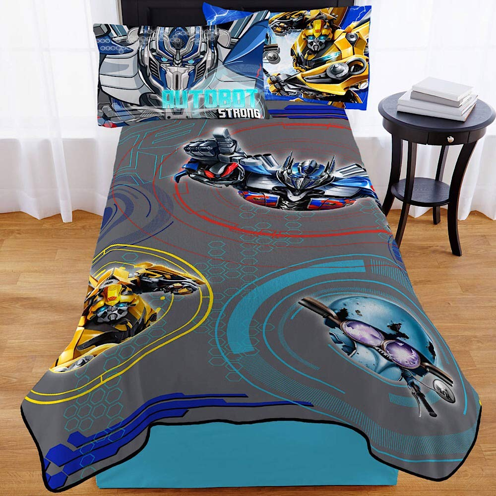 Transformers 5 Full Size Plush Blanket - 62 in. x 90 in. Franco Manufacturing Co. Inc. A4468I0