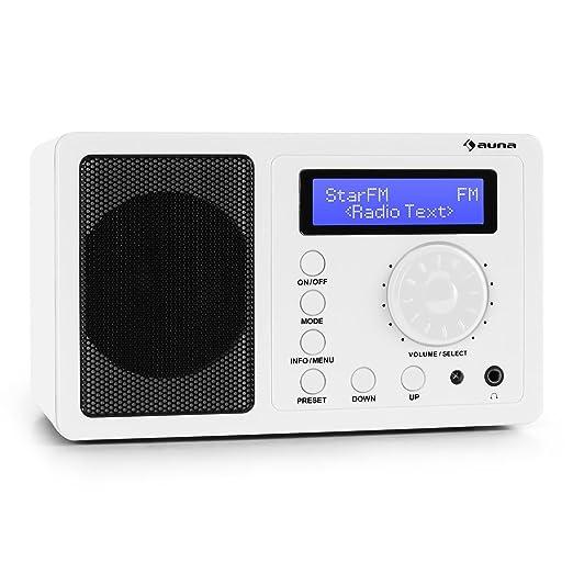 3 opinioni per auna DR-130 BT radio digitale DAB+ altoparlanti incorporati (bluetooth, FM,