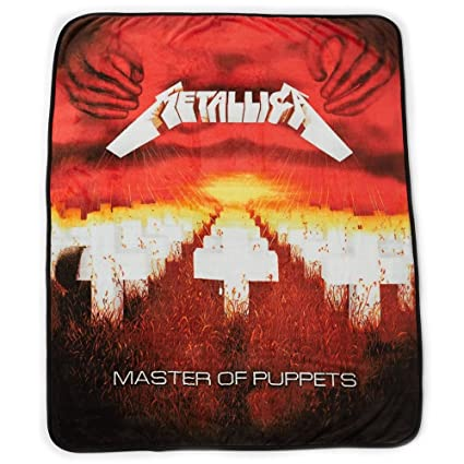Amazon Metallica The Master Collection Master Of Puppets Enchanting Metallica Throw Blanket
