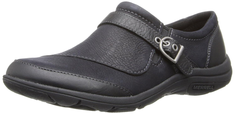 Black Merrell Women's Dassie Buckle Slip-On shoes