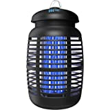 TBI Pro Bug Zapper for Outdoor & Attractant - Effective 4000V Electric Mosquito Zappers Killer - Insect Fly Trap…
