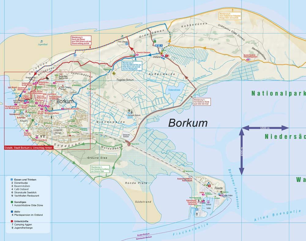 Reise Know How Inseltrip Borkum Reisefuhrer Mit Insel Faltplan