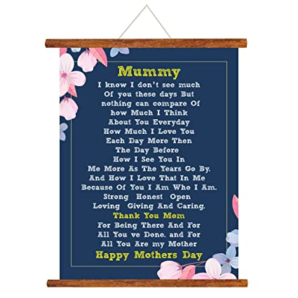 Buy YaYa Cafe Mothers Day Greeting Cards Thank You Mom Happy