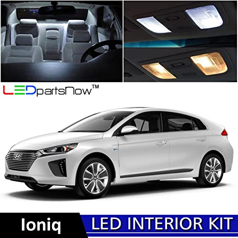 Amazon Ledpartsnow 2017 Hyundai Ioniq Hybrid Led Interior