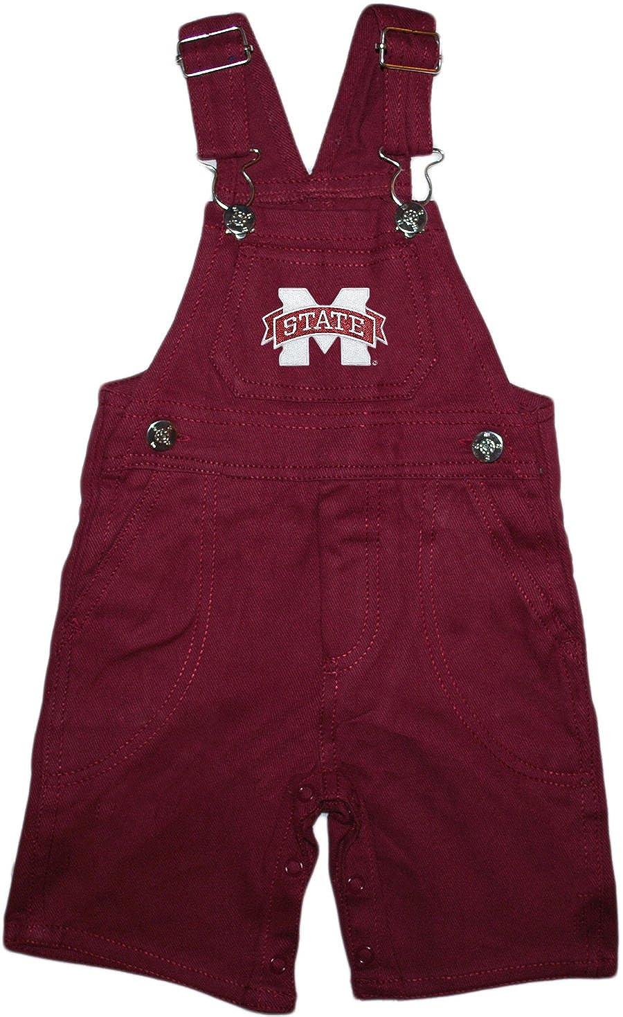 Mississippi State University Baby Overalls