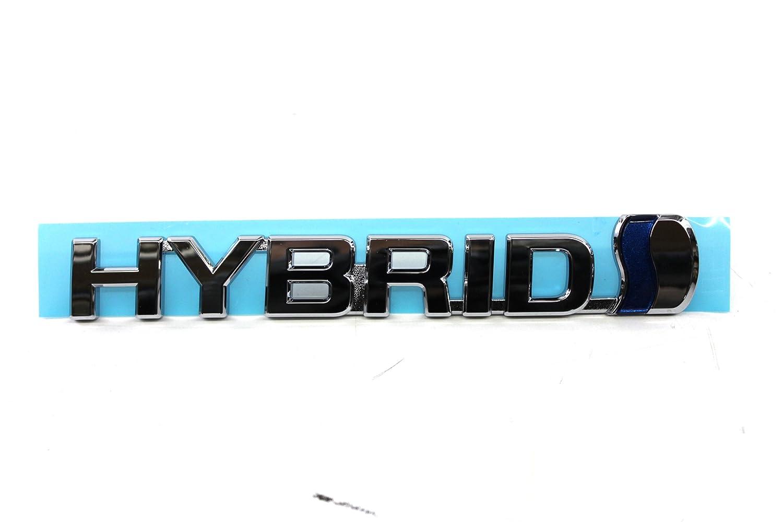 TOYOTA Genuine Accessories 75374-47061 Hybrid Emblem