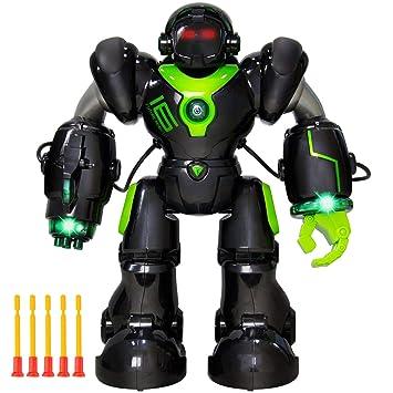 SYMTOP Control Remoto Inteligente Robot RC Hablar Caminar ...