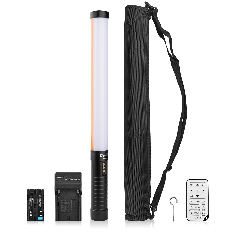 Opteka VL600 LED Professional Portable Studio Handheld Filler Lighting Wand for Photography