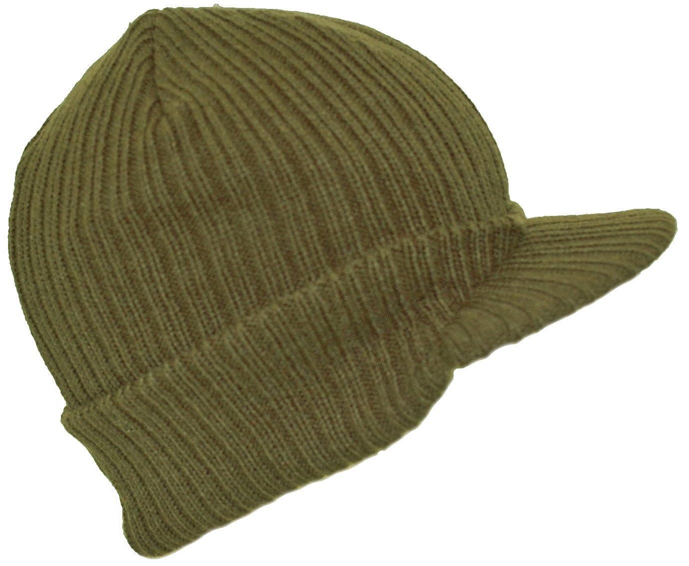 1c13ca947b2 Winter Warm Knitted Tinsulate Peaked Beanie Hat