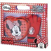 Disney Minnie - Borsetta Tracolla a Cuore con Guanti