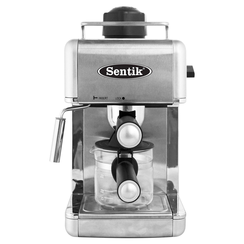 Black Office Sentik/® Professional Espresso Cappuccino Coffee Maker Machine Home