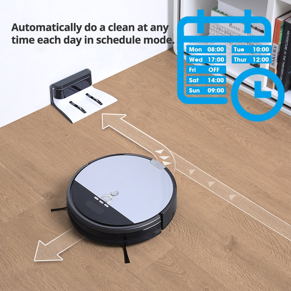 ILIFE V8s Robot Vacuum Cleaner Navigated Vacuuming and Mopping by ILIFE (Image #3)