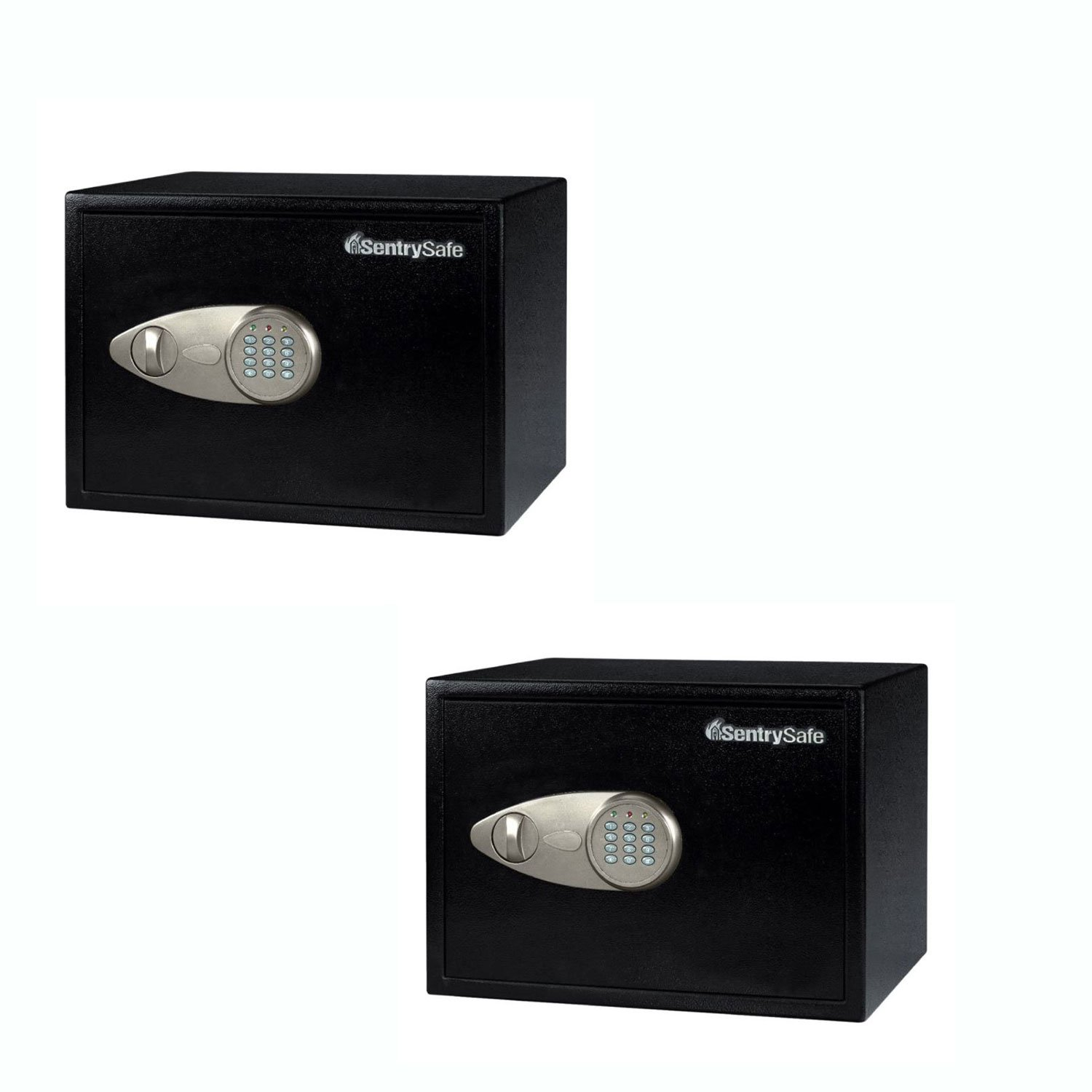 SentrySafe X125 Steel 1.2 Cu Ft Electronic Lock Home Security Safe (2 Pack)