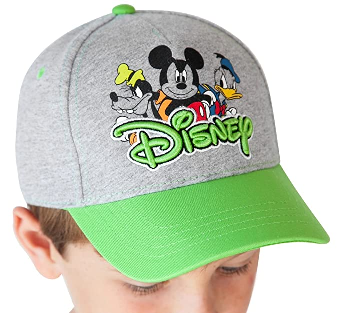 8c021b99652 Jerry Leigh Disney Youth Hat Mickey Mouse Goofy Donald Duck ...