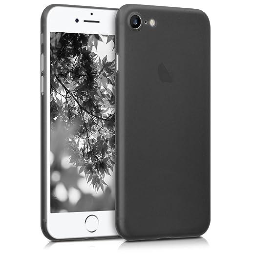 7 opinioni per kwmobile Custodia chic, super sottile per Apple iPhone 7 / 8 colore nero-