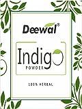 Deewal 100$% Herbal Indigo Powder - 100Gm