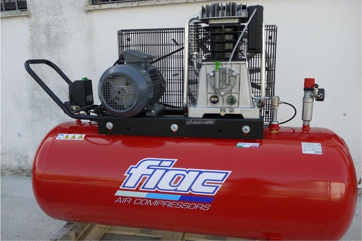 COMPRESOR DE AIRE CON TRANSMISIÓN CORREA 270 L FIAC AB 300-858 MADE IN ITALY: Amazon.es: Bricolaje y herramientas