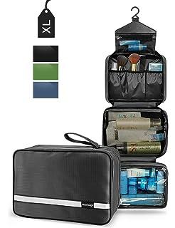bd180968f52 Mens Hanging Toiletry Bag   Travel Wash Bag for Men   Women   4 Layers  Portable