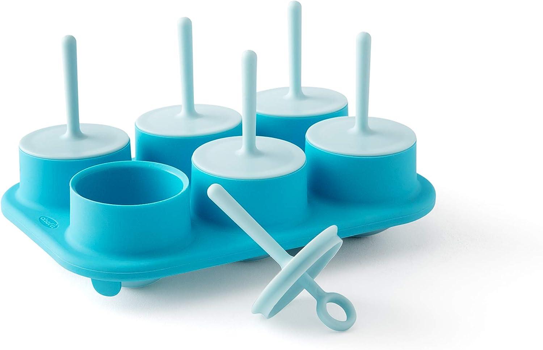 Chef'n Sweet Spot Mini Popsicle Maker, Set of 6, Blue