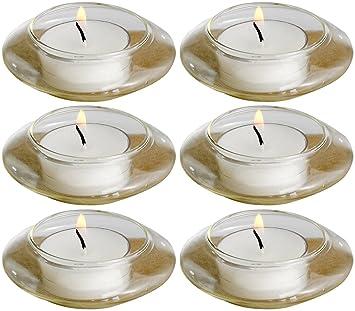 biedermann u0026 sons floating glass tealight candle holders
